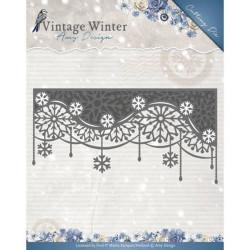 Die - Amy Design - Snowflake Swirl Edge 13,1 x 6,7 cm.