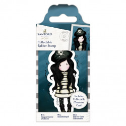 Santoro Mini Tampon Caoutchouc Collector N°49 Pirates