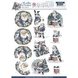 Carterie 3D Prédécoupée Noël - Amy Design - Père Noël SB10187