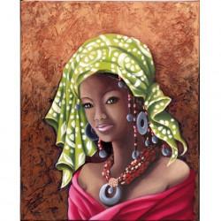 Image 3D GK3040049 - 30X40 - Africaine Fuchsia