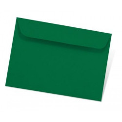1001 - ENV C6 162X114  - Racing green Paquet de 5