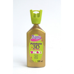 DIAMS 3D, 100ML, NACRÉE OR ANTIQUE