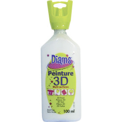 DIAMS 3D, 100ML, BRILLANT BLANC