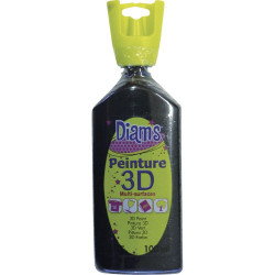 DIAMS 3D, 100ML, BRILLANT NOIR