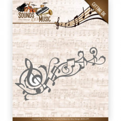 Die - Amy Design - Sounds of Music - Tourbillon musique 12,6 x 6,1 cm
