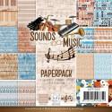 Bloc de papier - Amy Design - Sounds of Music 15.2 x 15.2