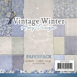 Paperpack - Amy Design - Vintage Winter 15.2 x 15.2