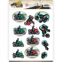 Carte 3D prédéc. - amy design - daily transport - les motos