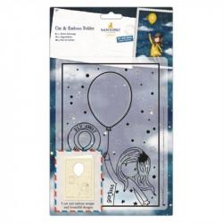 Cut & emboss folder - santoro gorjuss 21X15 cm envole toi