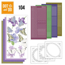 Dot and Do 104 - Kit Carterie 3D - Papillons