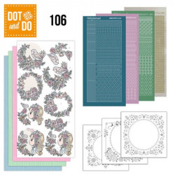 Dot and Do 106 - Kit Carterie 3D - Je t'aime
