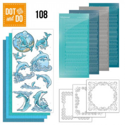 Dot and Do 108 - Kit Carterie 3D - Dauphins