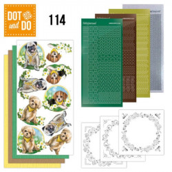 Dot and Do 114 - Kit Carterie 3D - Petits chiens