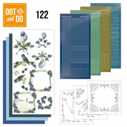 Dot and Do 122 - Kit Carterie 3D - Raisins bleus
