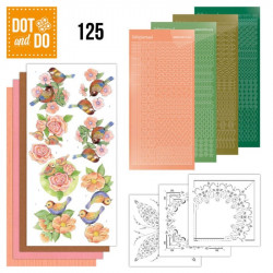 Dot and Do 125 - Kit Carterie 3D - Les oiseaux