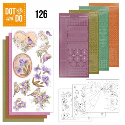 Dot and Do 126 - Kit Carterie 3D - Fleurs Vintage