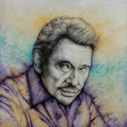 Reprographie Hommage à Johnny Hallyday