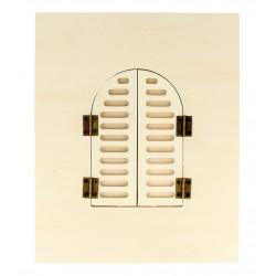 Cadre Fenêtre arrondie 18X22 CM