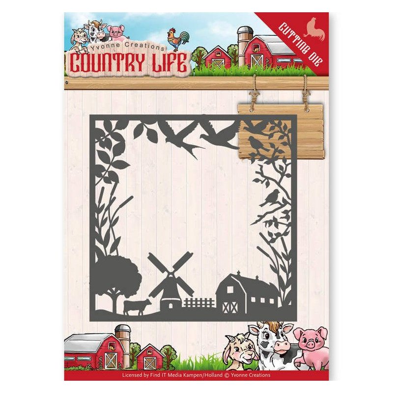 Dies - Yvonne Creations - Country Life Country Life Frame