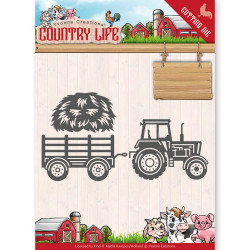Dies - Yvonne Creations - Country Life - Tracteur