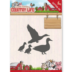 Dies - Yvonne Creations - Country Life - Canards