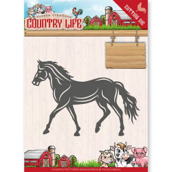 Dies - Yvonne Creations - Country Life - Cheval