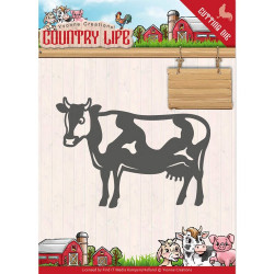 Dies - Yvonne Creations - Country Life - Vache