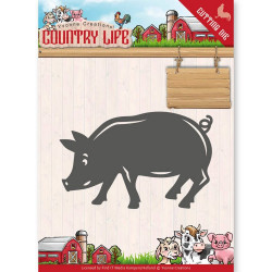 Dies - Yvonne Creations - Country Life - Cochon
