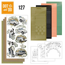 Dot and Do 127 - Kit Carterie 3D - Voitures Mariage