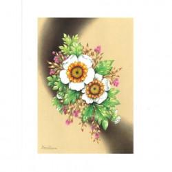 Image 3D ASTRO 464 - 24X30 - Bouquet de fleurs blanches