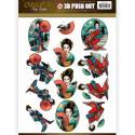 Carterie 3D Prédécoupée - Amy Design - Oriental - Geishas