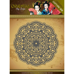 Die - amy design - oriental - mandala 13x13 cm