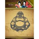 Die - Amy Design - Oriental - Happy Bouddha 6.7x7 cm