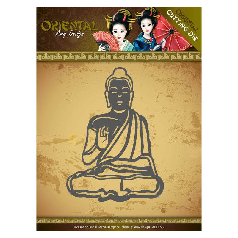 Die - Amy Design - Oriental - Méditation 6.1x8.4 cm
