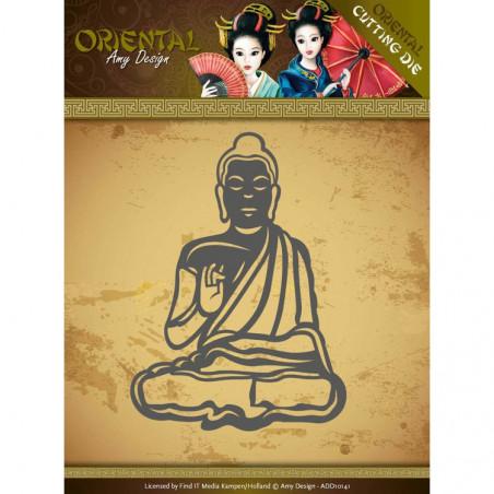 Die - ADD10141 - oriental - méditation 6.1x8.4 cm