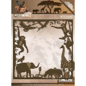Die - Amy Design - Wild Animals - Cadre 12.8x12.5 cm