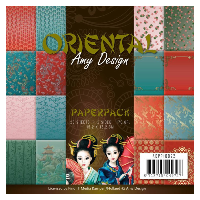 Paperpack - Amy Design - Oriental 15.2 x 15.2