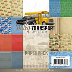 Bloc de papier - Amy Design -Daily transport 15.2 x 15.2