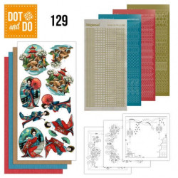 Dot and do 129 - kit Carte 3D - amy design - oriental