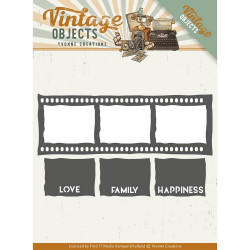 Dies - Yvonne Creations - Vintage Objects - Film photo
