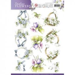 Carterie 3D Prédécoupée -  Precious Marieke - Timeless Flowers - Bouquets