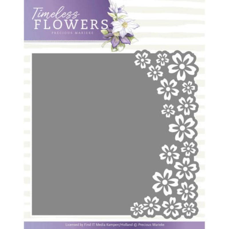 Die - Precious Marieke - Timeless Flowers - Buttercup Frame3.5x13.5 cm