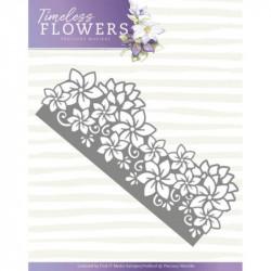 Die - precious marieke - timeless flowers - clematis bordure 5,2 x 12,7 cm.