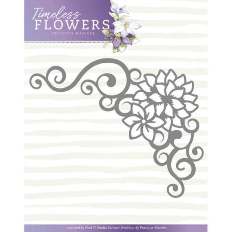 Die - Precious Marieke - Timeless Flowers - Coin Dahlia  6,5 x 8 cm.