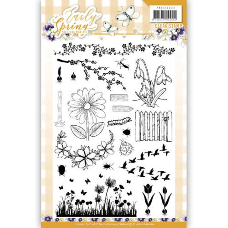 Tampons transparents - Precious Marieke - Early Spring