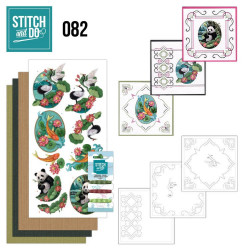 Stitch and do 82 - kit Carte 3D broderie - oriental
