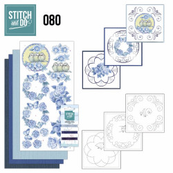 Stitch and Do 80 Carterie 3D broderie - Fleurs Vintage