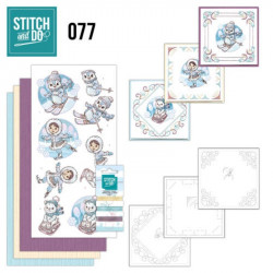 Stitch and Do 77 Carterie 3D broderie - Joie de l'hiver