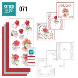 Stitch and Do 71 Carterie 3D broderie - Mariage