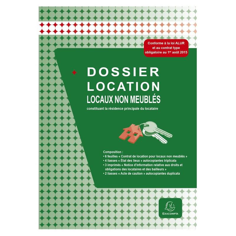 Dossier location locaux non meublés